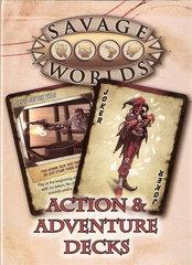 Savage Worlds - Action & Adventure Decks