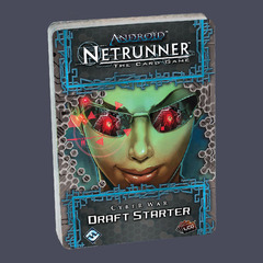 Android Netrunner - Cyber War Draft Pack- Starter