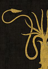 Fantasy Flight Sleeves - GOT - House Greyjoy