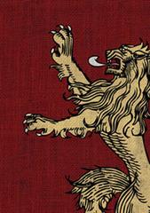 Fantasy Flight Sleeves - GOT - House Lannister