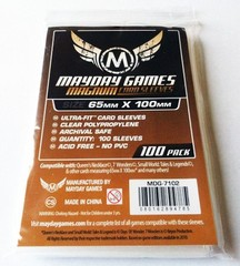 100ct Mayday Magnum Ultra-Fit Card Sleeves (65mm x 100mm)