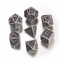 Gray with Black - Celtic 7 Die Set