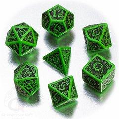 Green with Black - Celtic 7 Die Set