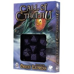 Call of Cthulhu - Horror on the Orient Express Dice Set