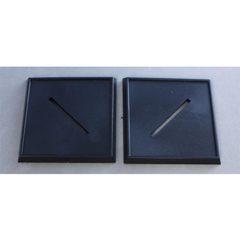2 Inch Plastic Square Bases (10)
