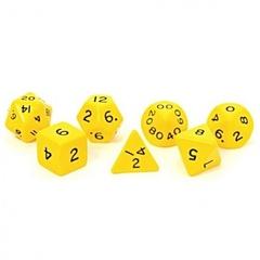 Koplow - Jumbo 28mm Polyhedral Set Yellow