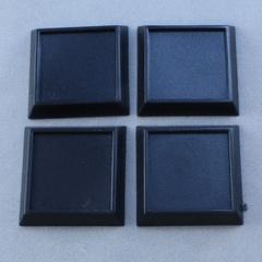 1 inch square bases - no slots