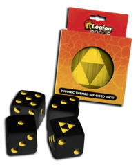 Iconic Dice - Tri-Force