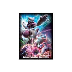 POKEMON CARD SLEEVES - MEGA MEWTWO X & Y (65)