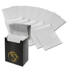 BCW Deck Guards Standard size 80 count Double Matte - White
