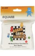 Asmodee  - Square Board Game Sleeves 70x70mm (100)