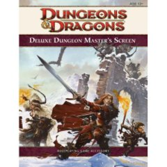 4th Edition Deluxe Dungeon Master's Screen