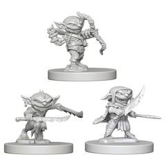 Pathfinder Deep Cuts Unpainted Miniatures: Goblins