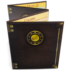 The Master's Tome Customizable DM Screen, Brown