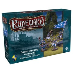 Runewars Miniatures Game: Daqan Infantry