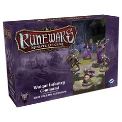 Runewars Miniatures Game: Waiqar Infantry