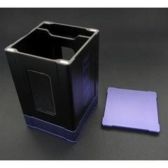 Deck Box: Seer- Black and Purple