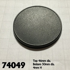 Reaper Base Boss: 50mm Round Gaming Base (10)