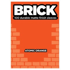 Legion - Brick Sleeves Atomic Orange (100)