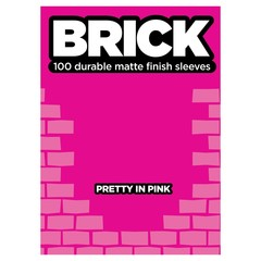 Legion - Brick Sleeves Pretty in Pink (100)