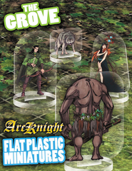 Flat Plastic Miniatures: The Grove