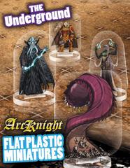 Flat Plastic Miniatures: Underground