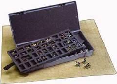 Figure Storage Case, Large, Fits 80 - 25mm Figures