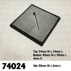 40 mm Square base (6)
