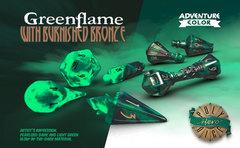 Wizard Set - Greenflame & Burnished Bronze