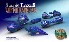 Wizard Set - Lapis Lazuli & Glittering Gold