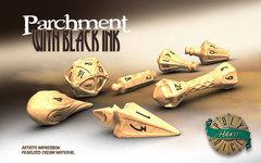 Wizard Set - Parchment & Black Ink