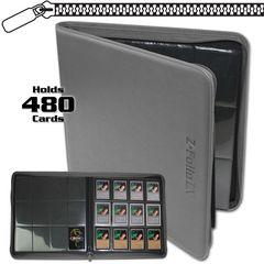 BCW Z-Folio 12-Pocket LX Album - Gray