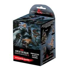 Dungeons & Dragons Fantasy Miniatures: Icons of the Realms Set 8 Monster Menagerie 3 Standard Booster Pack