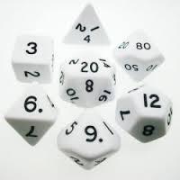 Koplow - Jumbo 28mm Polyhedral Set White