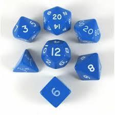 Koplow - Jumbo 28mm Polyhedral - Opaque Blue