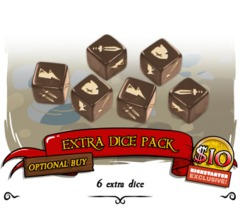 Munchkin Dungeon: Extra Dice Pack