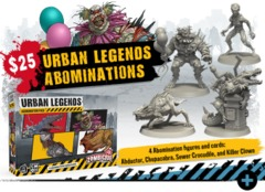Zombicide 2nd Edition: Urban Legends Abominations