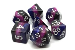 Old School RPG Dice Set: Gradients - Deep Space