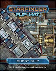 Starfinder Flip-Mat - Starship - Ghost Ship