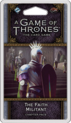 A Game of Thrones LCG: 2nd Edition - The Faith Militant Chapter Pack