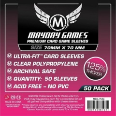 Mayday Games Premium Sleeves 70 mm x 70 mm (50 ct)