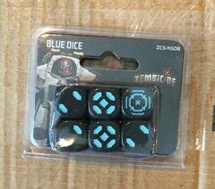 Zombicide Invader Blue Dice Set