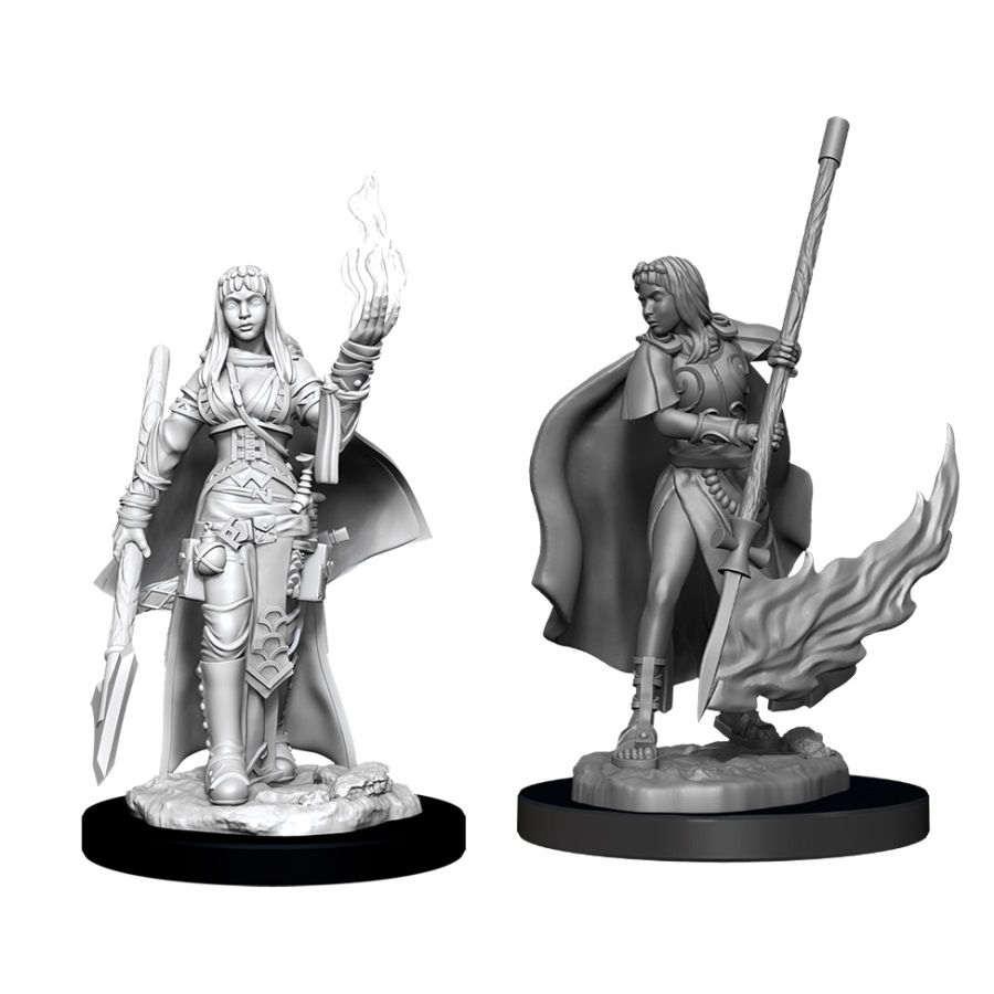 Pathfinder Deep Cuts Unpainted Miniatures: W11 Female Human Oracle (Magic User)