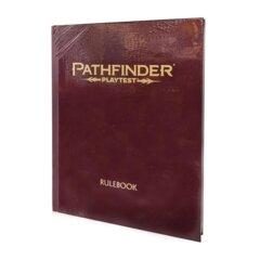 Pathfinder Playtest Rulebook Red Hardcover