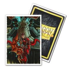 Dragon Shields: (100) Matte Art Sleeves - Emperor Scion Portrait