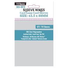 Sleeve Kings Card Sleeves: 63.5 x 88 mm 110 count(standard american size)