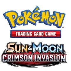 Pokemon: Sun & Moon - Crimson Invasion Booster Pack