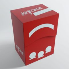 Keyforge Gemini Deck Box: Red
