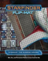 Starfinder Flip-Mat - Starship - The Sunrise Maiden