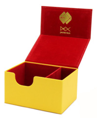 Creation Line Deck Box: Medium - Yellow